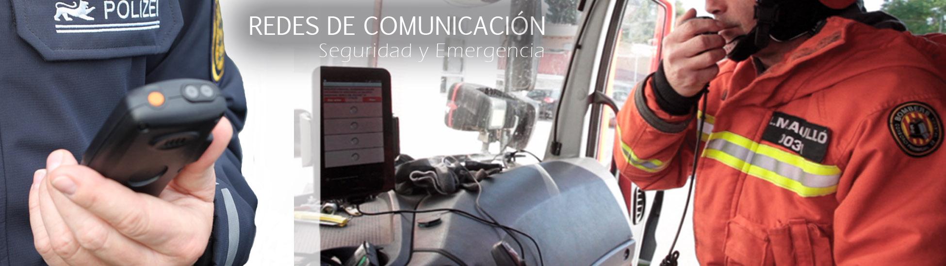 Redes de comunicación para segurdad y emergencias